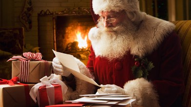 PHOTO: Santa Claus is seen in this file photo.