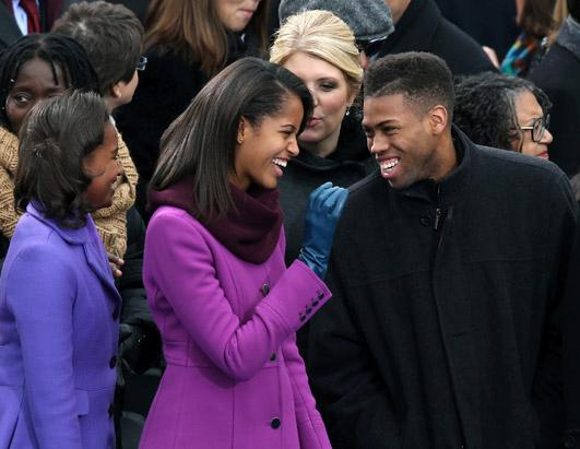 Malia, Sasha, Michelle Attend Kids Inaugural 