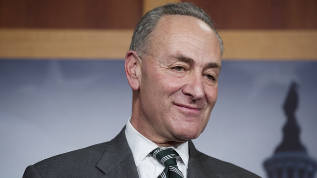 PHOTO: Senator Charles Schumer, D-N.Y., attends a press conference on an agreement for principles on comprehensive immigration reform framework at the U.S. Capitol in Washington on Jan. 28, 2013.
