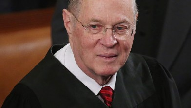 PHOTO: Supreme Court Associate Justice Anthony Kennedy attends U.S. President Barack Obama's State of the Union speech before a joint session of Congress at the U.S. Capitol February 12, 2013 in Washington, DC.
