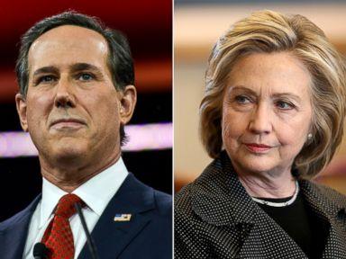 Santorum on Hillary Clinton: 'We???ve Taken Her On'