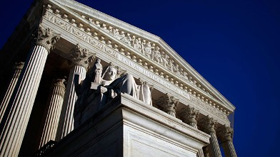 The U.S. Supreme Court building in Washington is shown in this Feb. 5, 2009 photo.