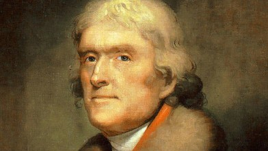 PHOTO: Thomas Jefferson, who lived from 1743 to 1826, was the third President of the United States.