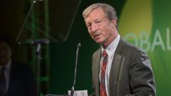 PHOTO: Tom Steyer speaks at Global Green USAs Millennium Awards at Fairmont Miramar Hotel on June 8, 2013 in Santa Monica, Calif.