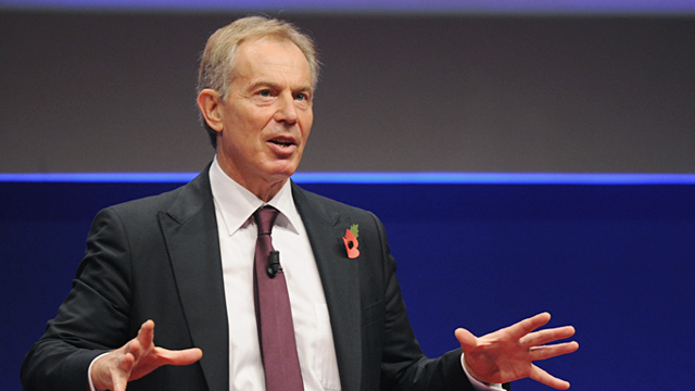 PHOTO: Tony Blair