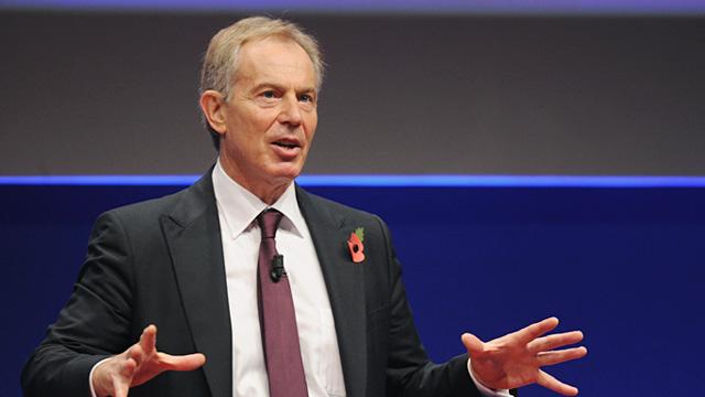 PHOTO: Tony Blair