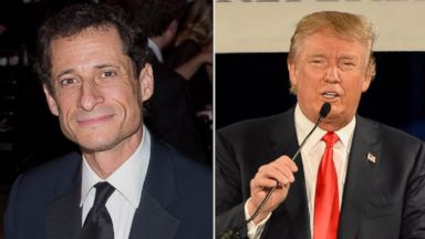 PHOTO: Anthony Weiner responded to Donald Trumps remarks about his wife.