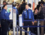 PHOTO: TSA officers monitor passengers in a security line, Nov. 24, 2010 at La Guardia Airport in New York.