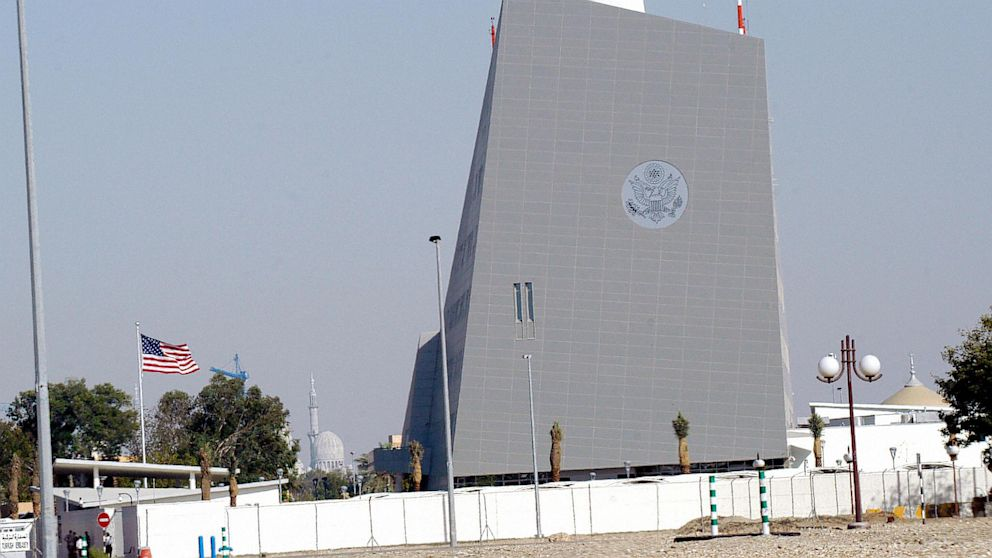 PHOTO: The U.S. embassy in Abu Dhabi, United Arab Emirates, will close Aug. 4, 2013 amidst terrorist threats.