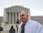PHOTO: Indiana grain farmer Vernon Hugh Bowman walks past the US Supreme Court, Feb. 19, 2013, in Washington.