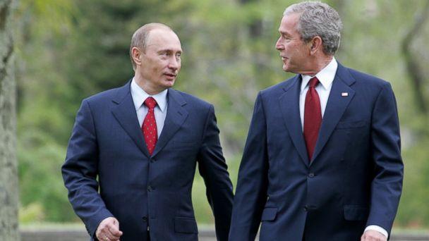 gty vladimir putin george w bush jc 140721 16x9 608 Close Encounters With Vladimir Putin: What Joe Biden And George W. Bush Saw