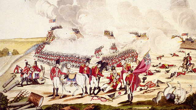 PHOTO: The Battle of New Orleans during the War of 1812, which took place shortly after the Treaty of Ghent.