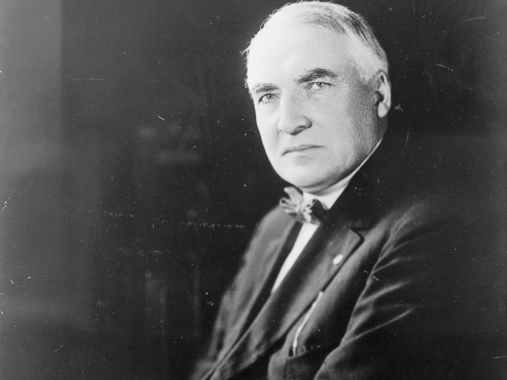PHOTO:The 29th President of the United States Warren G. Harding is pictured in this undated file photo.