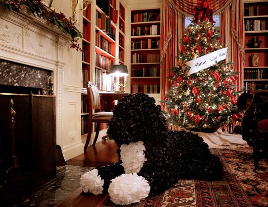 Christmas Past at the White House