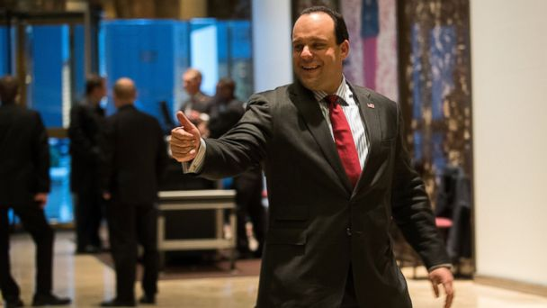 PHOTO: Trump campaign senior advisor Boris Epshteyn arrives at Trump Tower, November 16, 2016 in New York City.