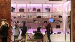 'PHOTO: Customers shop1_b@b_1a new Ivanka Trump brand store in the lobby of Trump Tower, December 15, 2017 in New York City.' from the web at 'http://a.abcnews.com/images/Politics/gy_ivankastore2_dc_121617_16x9t_240.jpg'