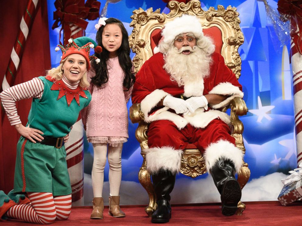 Santa Claus quizzed by kids about Al Franken, Roy Moore