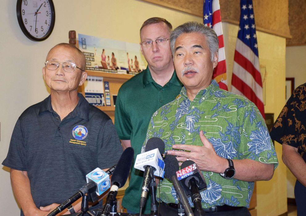 Hawaii 'button pusher' says he was '100% sure' missile threat was real