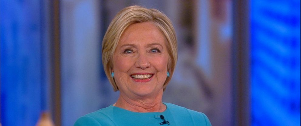 """PHOTO: Hillary Clinton appears on """"The View,"""" Sept. 13, 2017."""