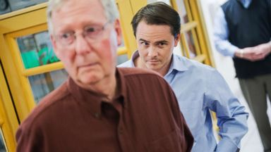 'PHOTO: Josh Holmes, chief of staff for incoming Senate Majority Leader Mitch McConnell, R-Ky., attends a rally1_b@b_1the airport in Bowling Green, Ky., Nov. 3, 2014.' from the web at 'http://a.abcnews.com/images/Politics/holmes-gty-er-171213_16x9t_384.jpg'