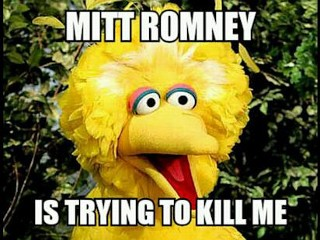 Photos: Big Bird Goes Viral After the Debate