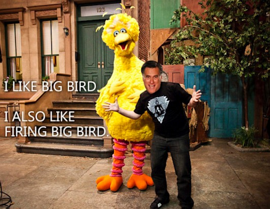 ht 6 sesame street big bird nt 121004 ssh Nightline Daily Line, Oct. 4: Fact Checking the Debates
