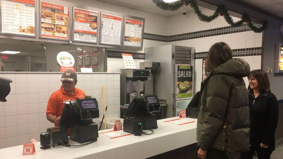 Melania  Trump , Karen Pence visit Whataburger for their fast food fix