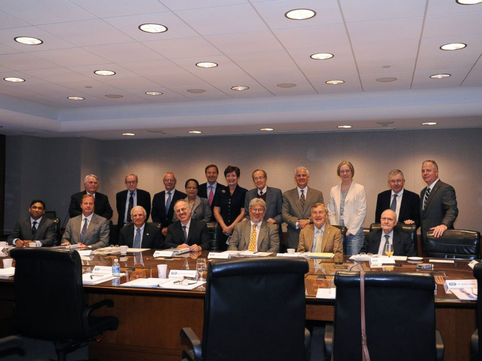 PHOTO: A State Department photograph shows the 2011 International Security Advisory Board. Rajiv Fernando is seated on the far left of the image.
