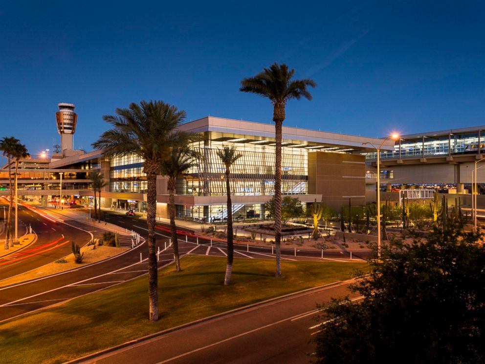 PHOTO: A rendering of Phoenix Sky Harbor International Airports Terminal 3 when its $590 million facelift is complete. The City Council voted to name it after Sen. John McCain.