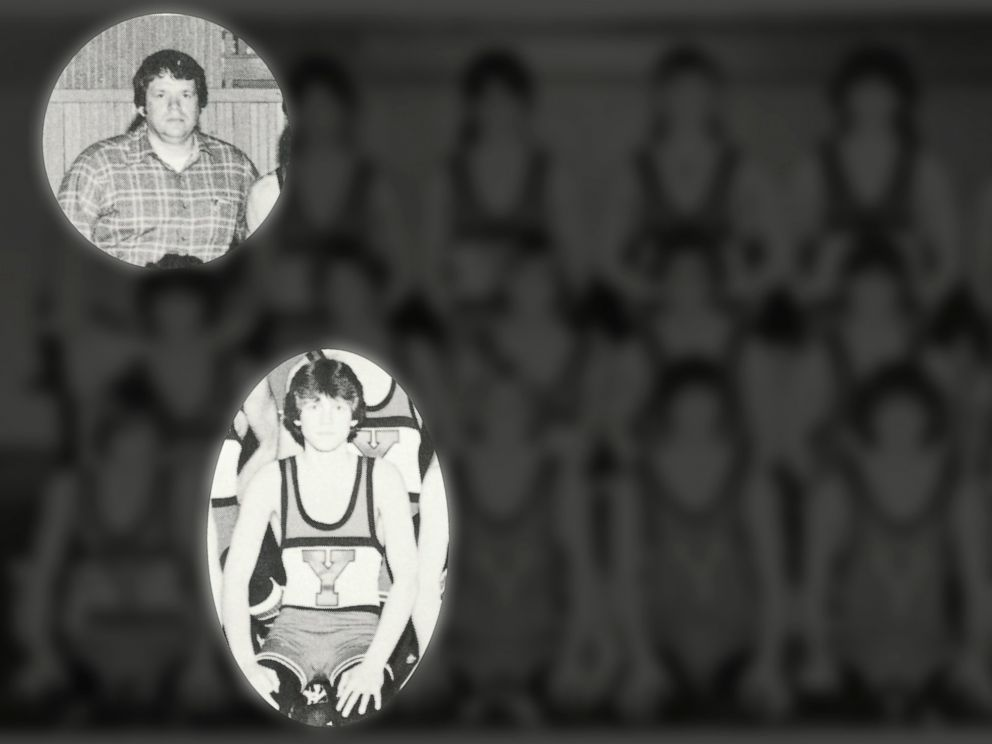 PHOTO: Scott Cross is seen in the 1979 Yorkville High School yearbook with then-wrestling coach Dennis Hastert. Cross testified Wednesday at Hastert's sentencing hearing that the former Speaker of the House sexually molested him when he was 17.
