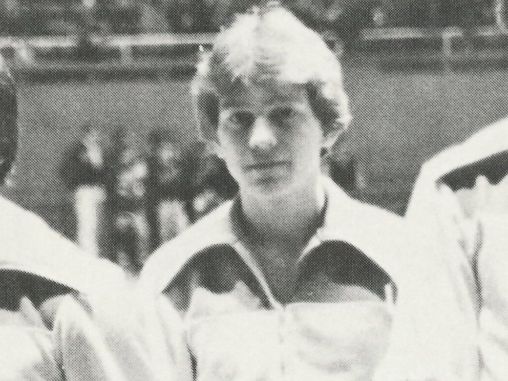 PHOTO: Scott Cross is seen in the 1979 Yorkville High School yearbook. Cross testified that he was molested by former House Speaker Dennis Hastert who was a wrestling coach at the school.