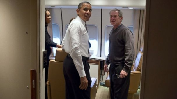 ht air force one bush kb 131211 16x9 608 What George W. Bush Misses About Being President