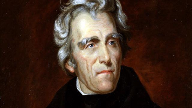 PHOTO: Andrew Jackson