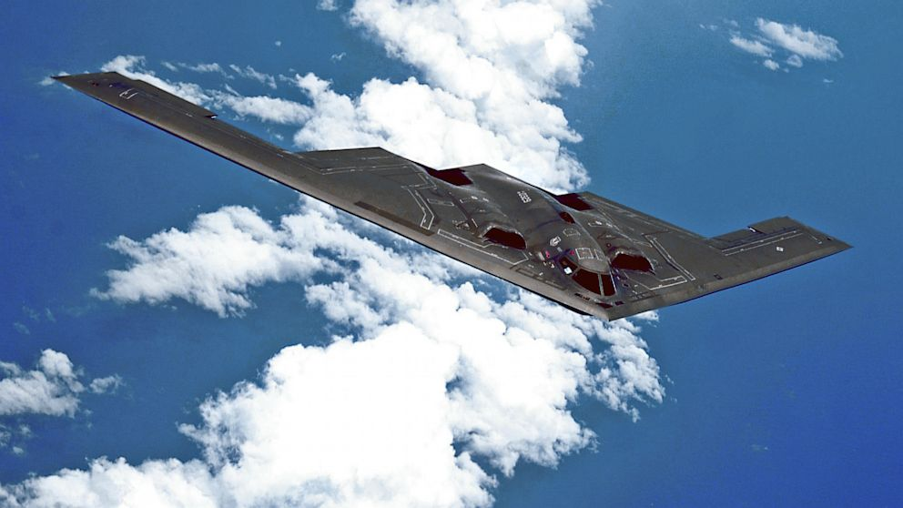PHOTO: B-2 stealth bomber