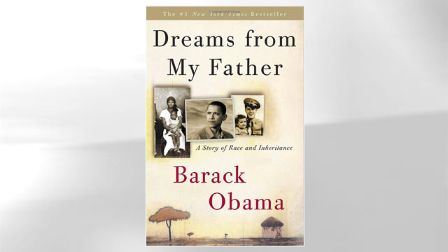 "PHOTO: The cover of Barack Obama's book ""Dreams from my Father"" is shown here."