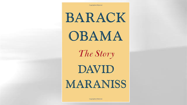 "PHOTO: The cover of David Maraniss book ""Barack Obama The Story"" is shown here."