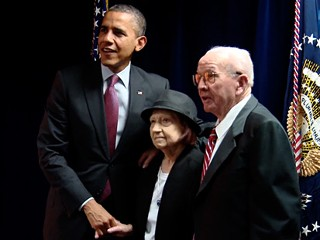 Obama's Edge With Centenarians