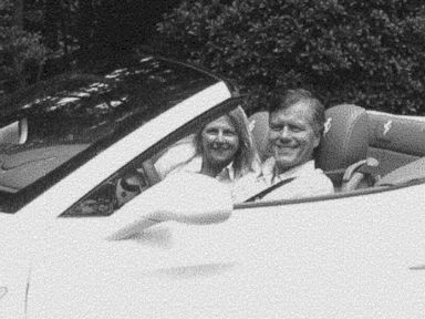 PHOTO: Former Virginia Governor Bob McDonnell and his wife Maureen are pictured in a Ferrari in this image submitted as evidence during their corruption trial.