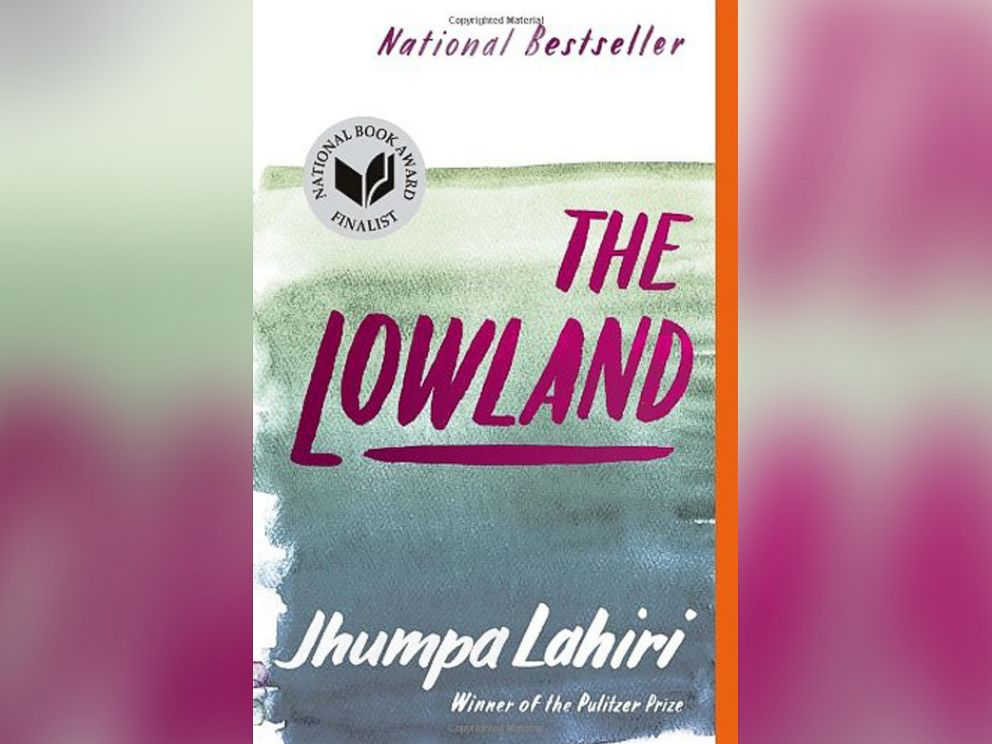 PHOTO: The cover of The Lowland, By Jhumpa Lahiri.
