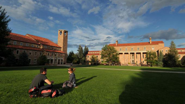 PHOTO: University of Colorado Boulder symbol