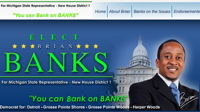 PHOTO:&nbsp;Brian Banks is running for Michigan State Representative, New House District 1.
