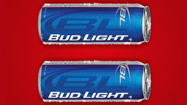 PHOTO: Bud Light equal sign