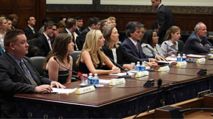 Photo: Parents, students, educators and psychologists testified before Congress today on ways to improve school safety and prevent violence.