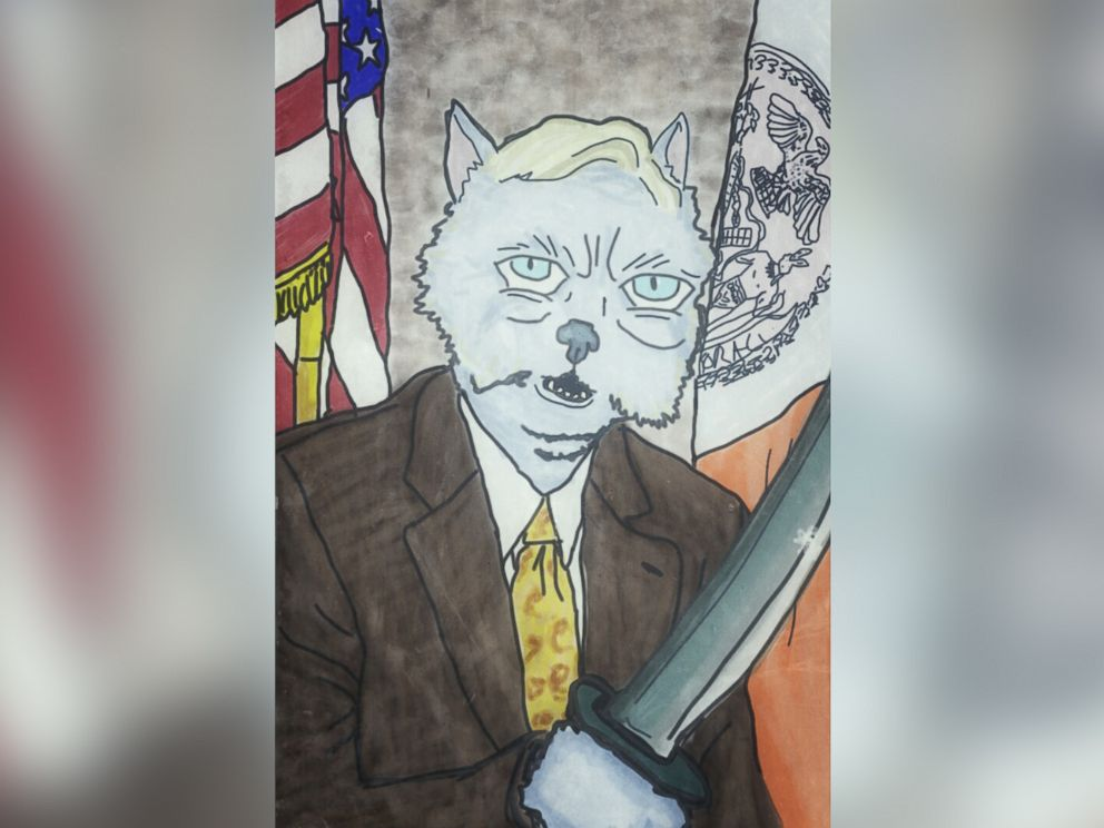 PHOTO: New York State Sen. Tony Avella is imagined as a cat.