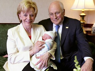 vice president dick cheney and his wife lynne cheney welcomed