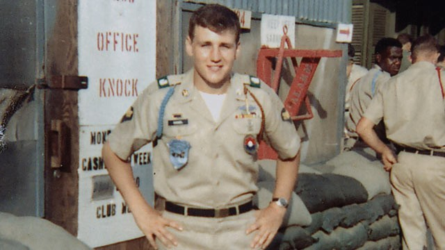 PHOTO: Chuck Hagel is pictured during his service in the Vietnam War, circa 1967-68.
