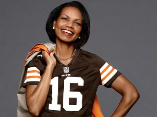 Condoleezza Rice Makes Modeling Debut