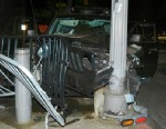 PHOTO: Authorities say Joseph Reel rigged this Jeep to crash into a Secret Service guard shack about a block from the White House early morning, June 9, 2013.