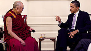 Photo: The Delicate Dance of Meeting with the Dalai Lama