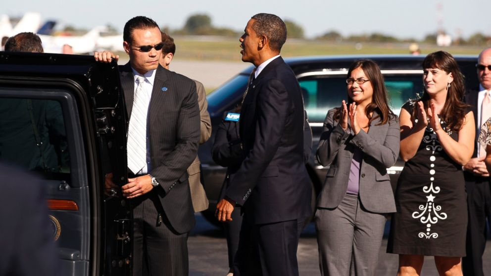 Dan Bongino, seen left in this undated handout photo, is a former Secret Service agent who says conversations he overheard in the White House while protecting President Obama led him to run for Congress as a Republican. PHOTO: